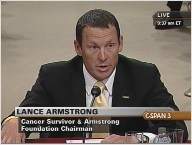 Lance Armstrong - Founder and Chairman of Lance Armstrong Foundation: Lance Armstronggood