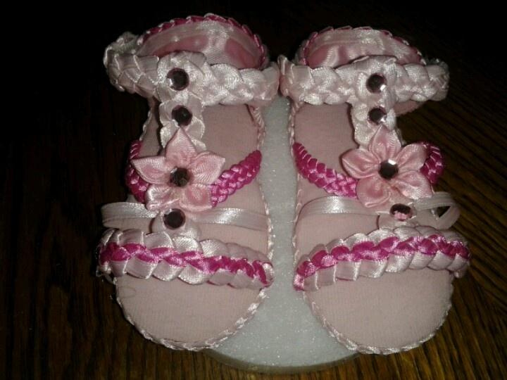 Handmade baby sandals :)