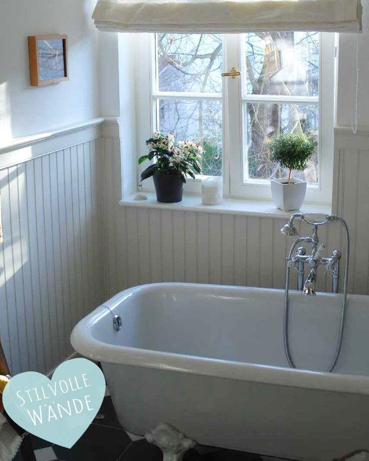 Wandverkleidung Holzverkleidung Originalusa Holzpaneele Wandgestaltung Badezimmer Badewanne Renovierung Handwerker T In 2020 Home Sweet Home Clawfoot Bathtub