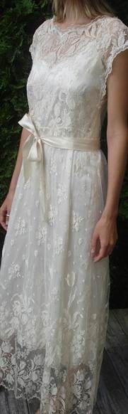 Vintage 70's Priscilla of Boston Dress