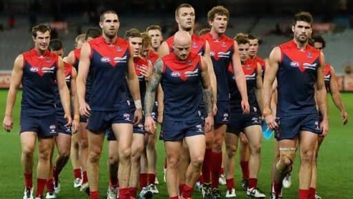 The deez didn't have a great game that day but seriously look at Max Gawn, he has NO BEARD!!!