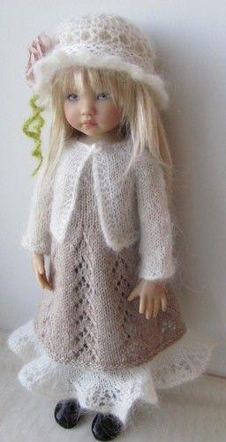 Hand Knit Doll Outfit Set for 13'' BJD Helen Kish Diana Effner   eBay