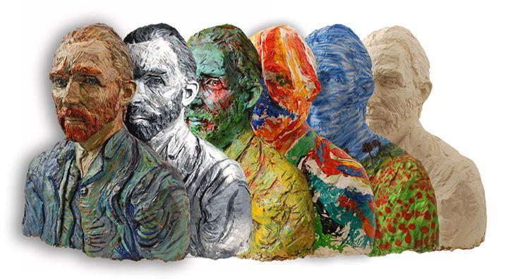Art project Ien Sluyters, Vincents revival http://www.iensluyters.nl/vincents-revival/