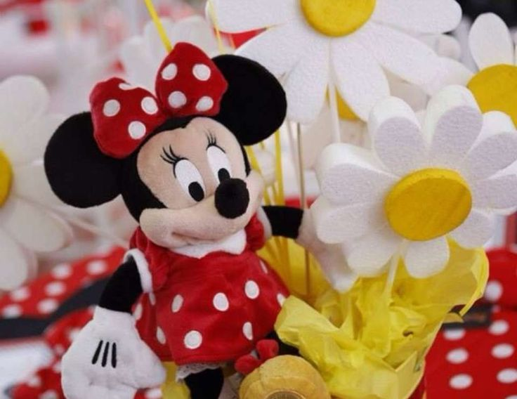 """Minnie Mouse Polka dots / Birthday """"Minnie Mouse """" 