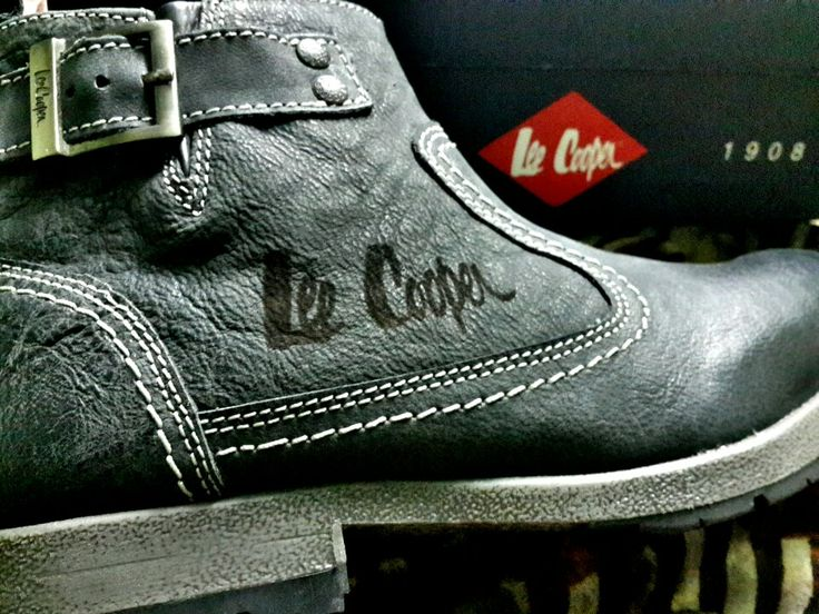 Lee cooper#leather boots#mens fashion#men's style