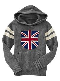 Union jack hooded pullover - I was never into the Union Jack until watching Doctor Who. lol