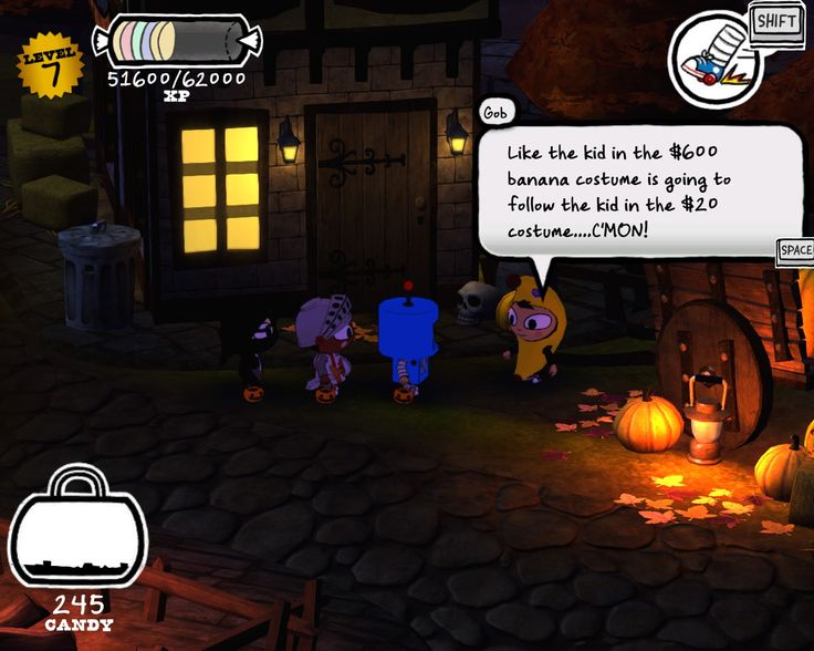 Bought Costume Quest on the Steam Winter Sale and was surprised to find this reference. [X-post from r/arresteddevelopment]