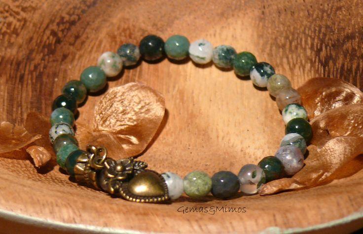 Ágata #jewelry #handmade #gemstones #joyeria #hechoamano #artesania #piedras