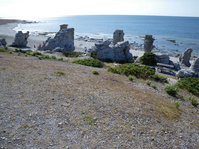 Langhammar's rauks on Fårö #Gotland