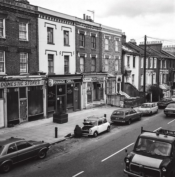 From the book : Dalston In The 80s | Andrew Holligan