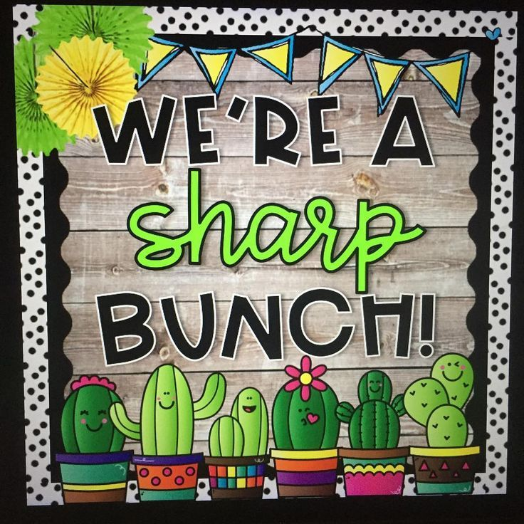 We're a SHARP crew in Classroom 2+#back_to_school_bulletin_boards #back_to_sch… – Back To School