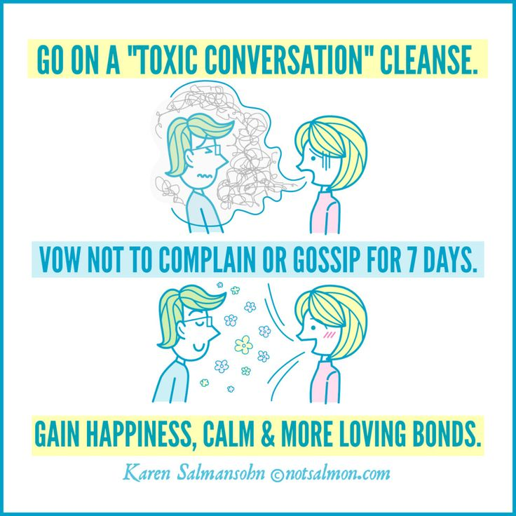 Go on a Toxic Conversation Cleanse! Click the image to read why/how you should stop complaining & gossiping! @notsalmon