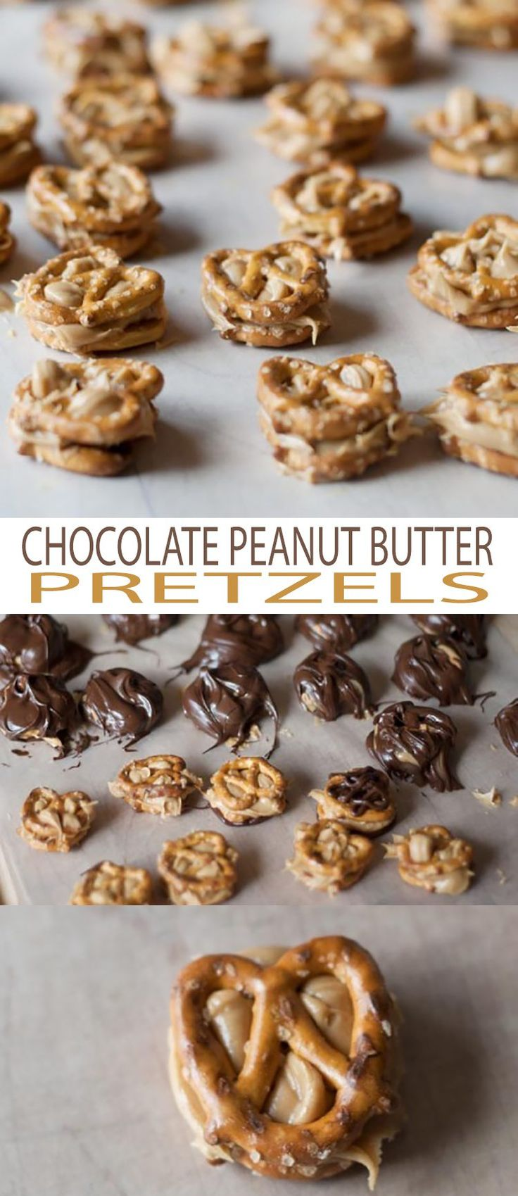 Chocolate Peanut Butter Pretzels are delicious, easy to make and a fun snack to make with kids in the kitchen. Chocolate!!