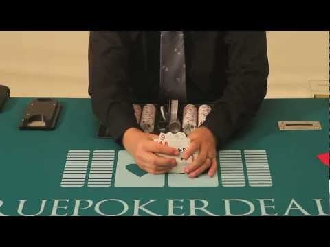 How to Deal Poker - How to Shuffle Cards - YouTube
