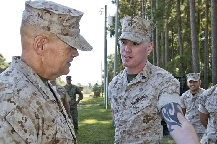 Gen. Robert Neller revealed the one thing that would prompt him to reconsider tattoo restrictions.