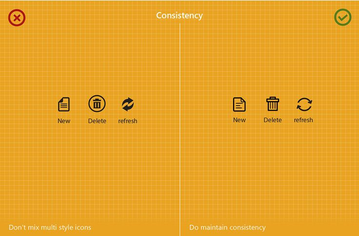Pixel Icons visual guide on Behance