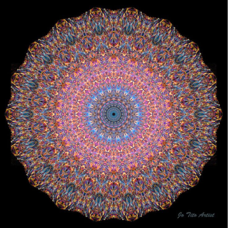 The recent full moon prompted me to create this mandala too - Mandala Moon - bringing healing through water during this full on full moon! :)