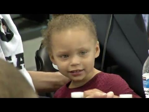 Stephen Curry's Daughter Interview-Bombs Her Uncle Seth - YouTube