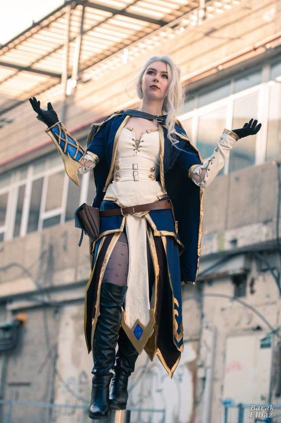 New World of Warcraft Jaina Proudmoore cosplay armour Costumes