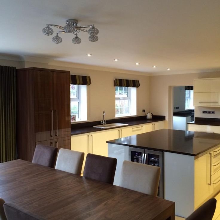 Kitchen Redesign, Granite Worktop, Modern Style, Fitted In A Home In Hull