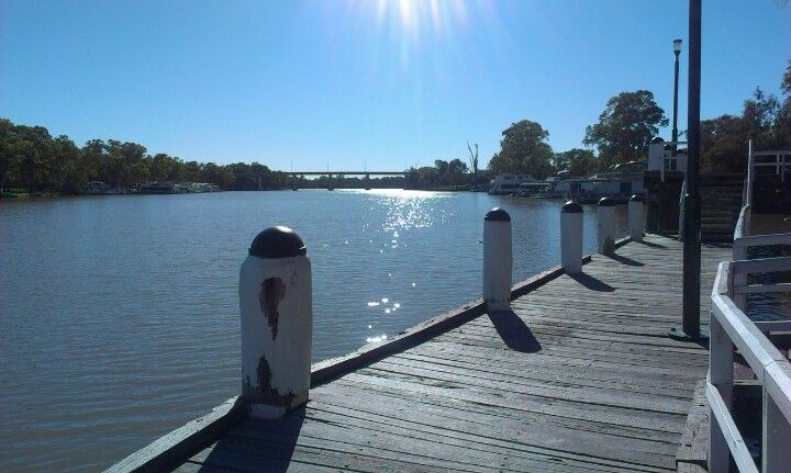 Whilst having a look at the Murray River check out the Port of Mildura Wharf.