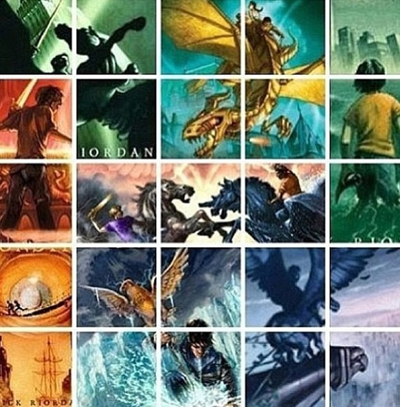 Percy Jackson and the Olympians & The Heroes of Olympus