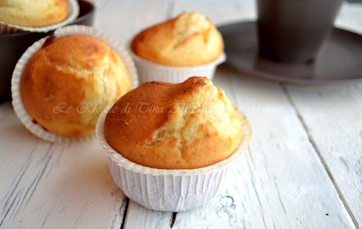 Muffin con philadelphia sofficissimi,semplici e veloci ideali per una gustosa merenda o una ricca colazione