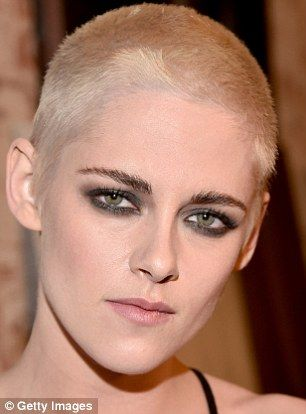 Kristen Stewart debuted a brand new look at the premiere of her film Personal Shopper in Los Angeles on Tuesday.
