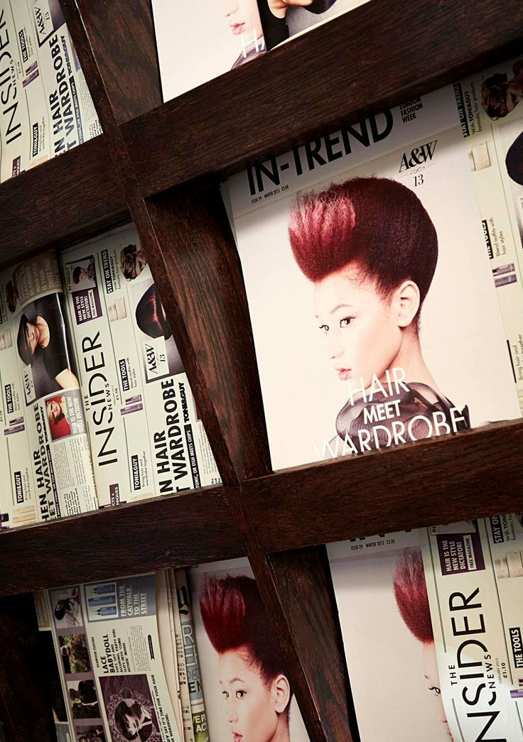 Brand design for Toni & Guy London Fashion Week press event.Customised magazine and newspaper designs.