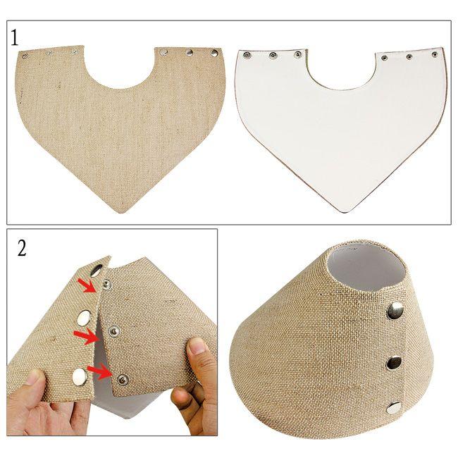 Linen Collapsible Bust, 7 1/4'' X 8 1/2'' X 4 7/8''