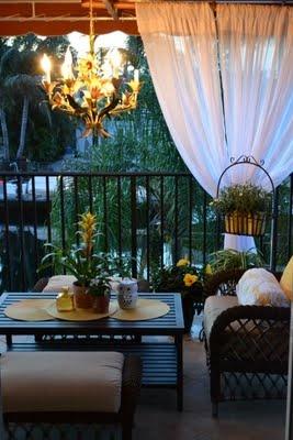 love the curtain ideas: Porch Curtains, Garden Ideas, Decor Ideas, Decorating Ideas, Terrace Lounge Porch Outdoor, Backyard, Curtain Ideas, Decor Patios