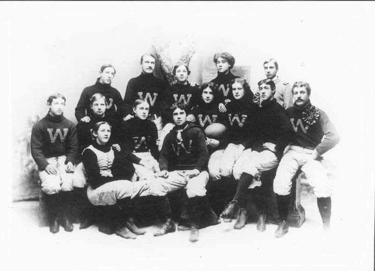 The University of Wyoming football team in 1896. (Gerace)