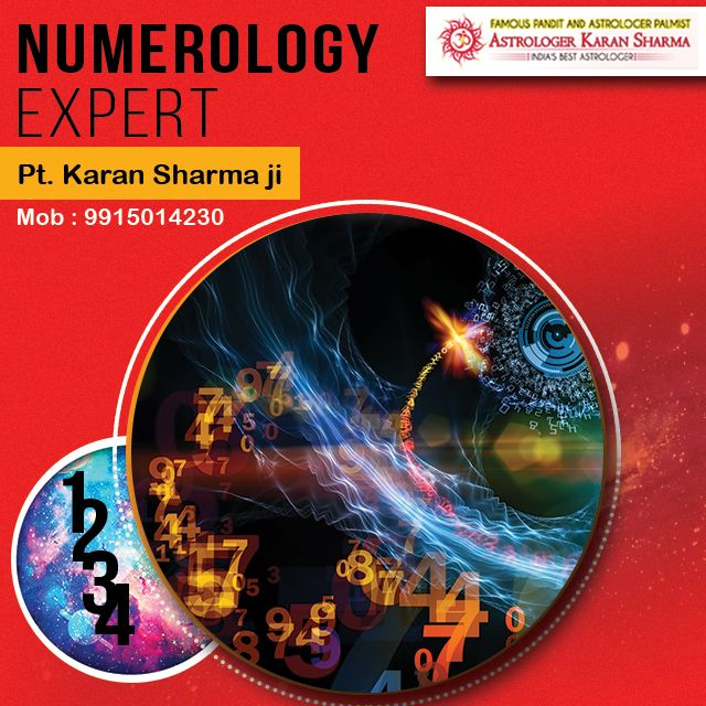 Numerology expert PT.KARAN SHARMA JI. Please visit us- www.a1astrology.com