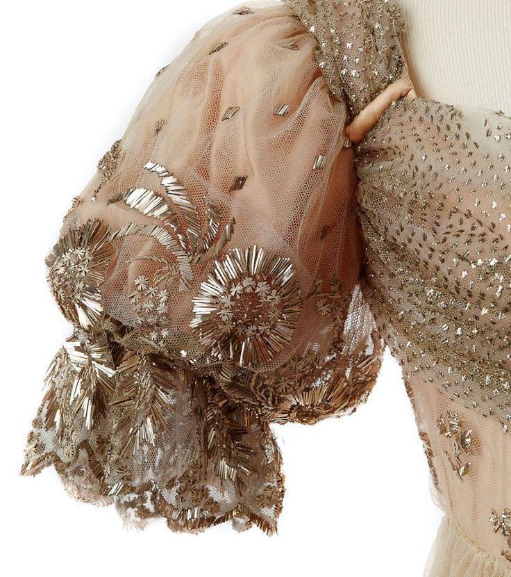 Detail-dress belonging to Empress Josephine, 1810s