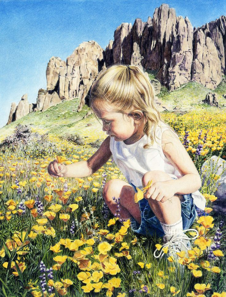 Art Instruction Blog: Colored Pencil Tools and Techniques for the Wax and Oil Based Colored Pencil by Sheri Lynn Boyer Doty - Desert-Flower.jpg (1522×2000)