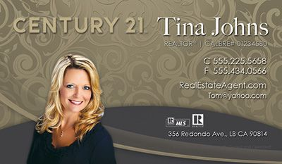 Century 21 Business Card Templates So Many To Choose From Century