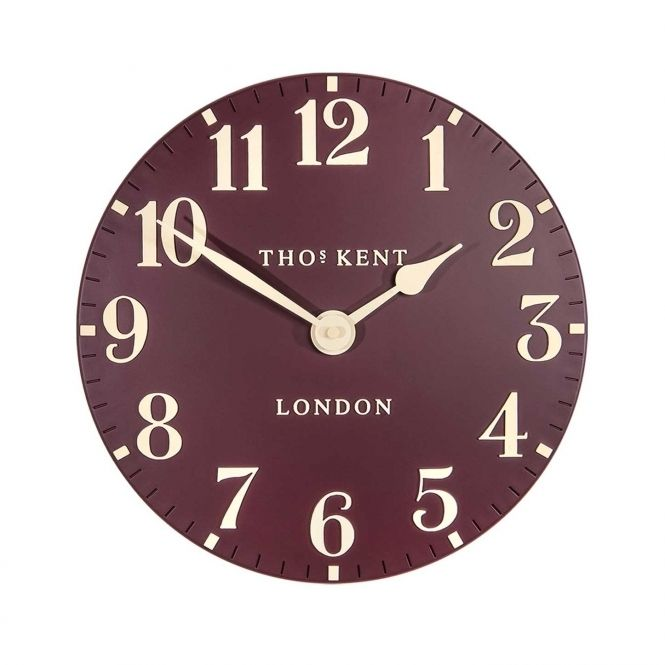 Arabic 12 Wall Clock Berry Clocks Uk Thomas Kent