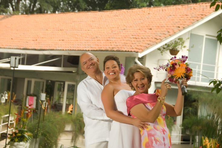 Boda de Ingrid con sus padres. #FotografosDeBodasCali