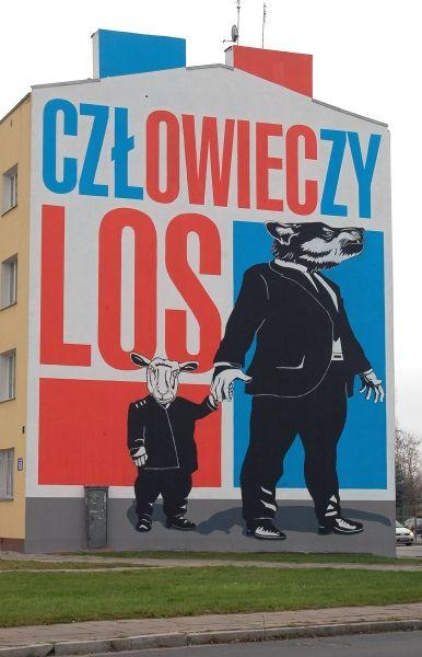 Najnowszy i największy mural na Pradze