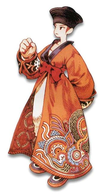 Week 16 - Final Fantasy Tactics - Concept Art Sun - Mystic Male