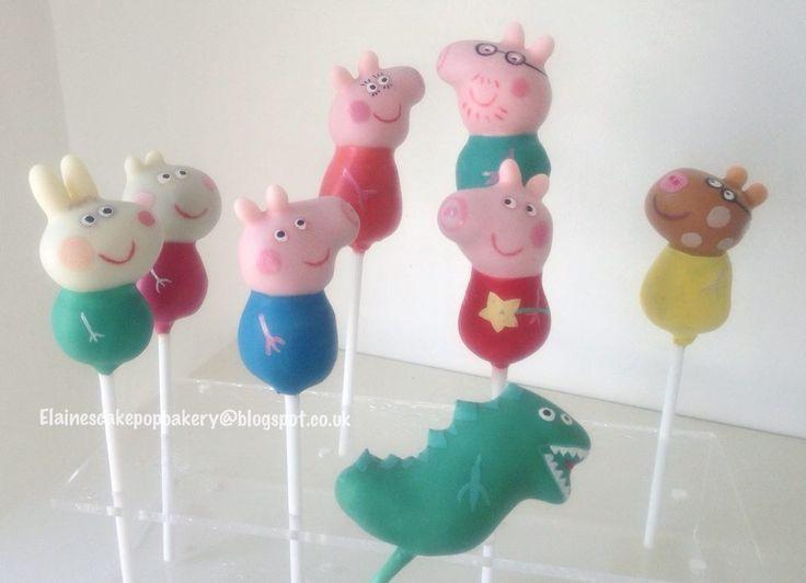 Peppa Pig Cake Pops Sydney