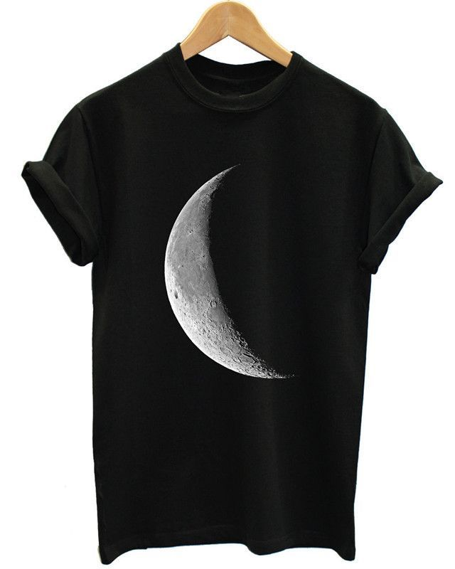 Want skull tops, hoodies, leggings and more HALF MOON T SHIRT... add to any wardrobe http://rebelstreetclothing.com/products/half-moon-t-shirt-full-galaxy-space-emo-tumblr-indie-hipster-women-top-men-girl-plus-size - small mens clothing, mens fashion clothing stores, fine mens clothing
