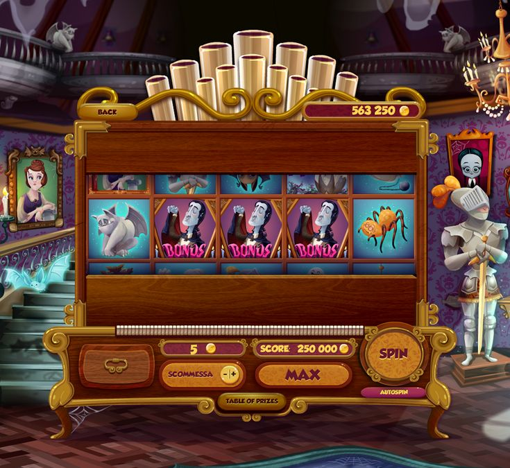 slot machine online haunted house
