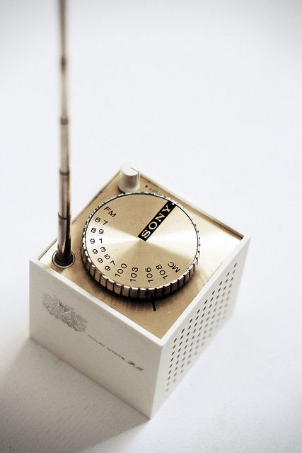 Anonymous; #TFM-1837W Plastic and Chromed Metal Transistor Radio, 1969.