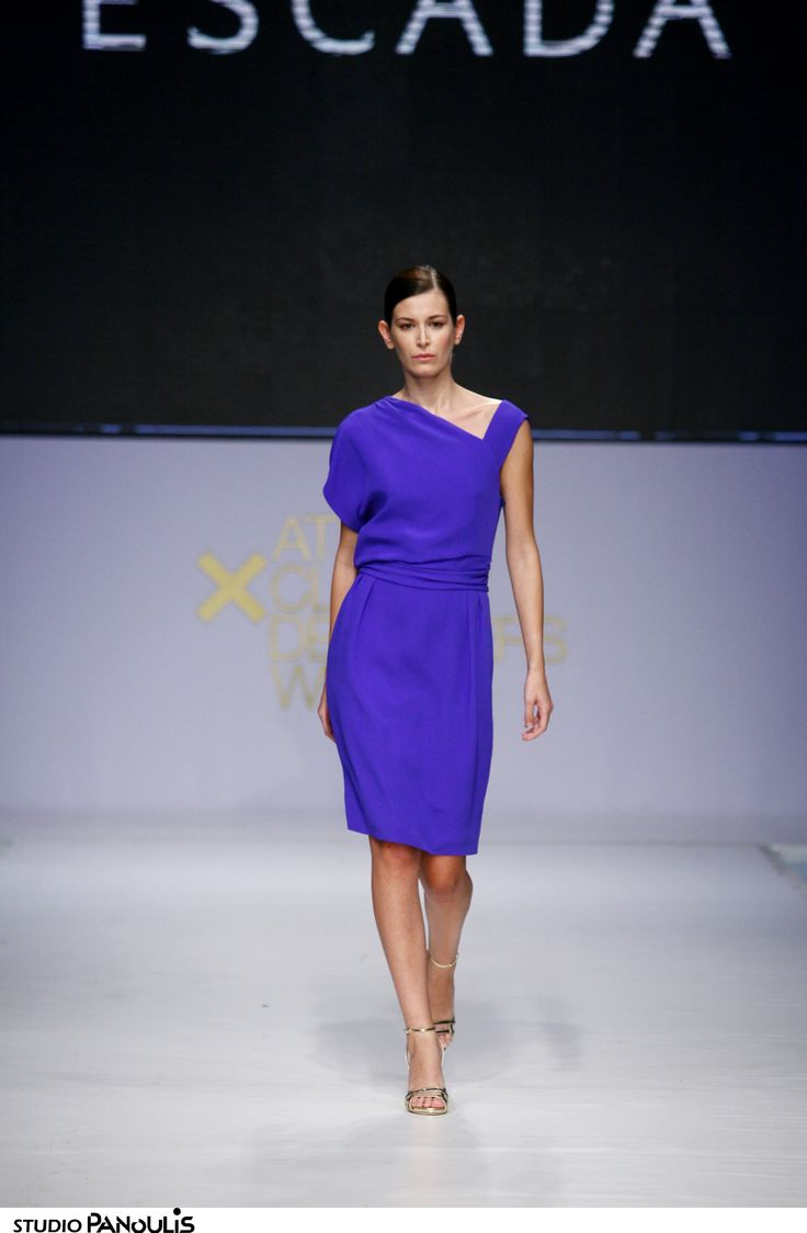 Escada fashion show