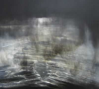 GARRY CURRIN, Meditation On Orpheus (2007)    oil & mixed media on canvas