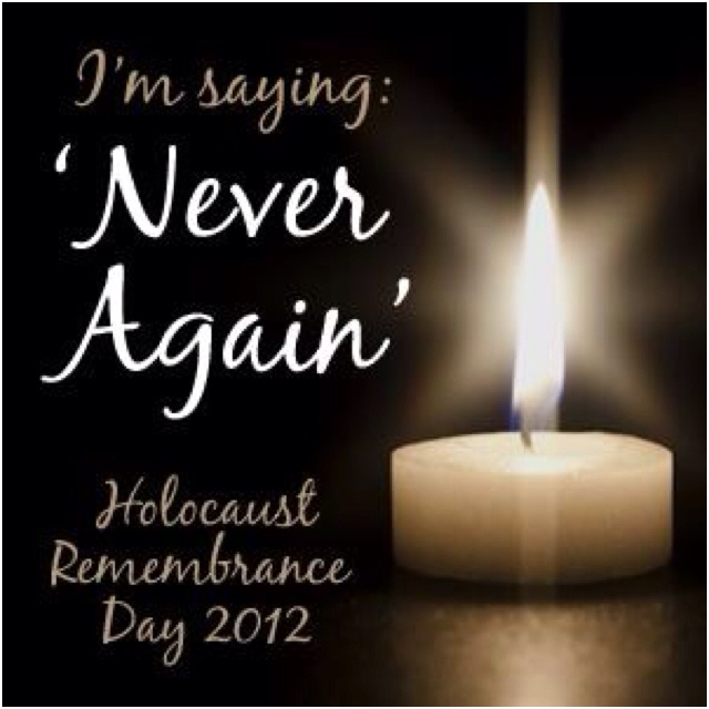 holocaust memorial day 2012 date