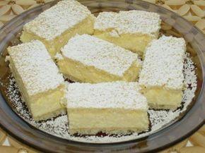 Túrós krémes – nagyon finom sütemény