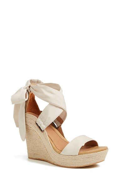 UGG® Australia 'Jules' Platform Wedge Sandal (Women) available at #Nordstrom