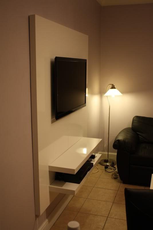 ... le thème Tv Au Mur sur Pinterest Salon Tv, Meuble Suspendu et Tv